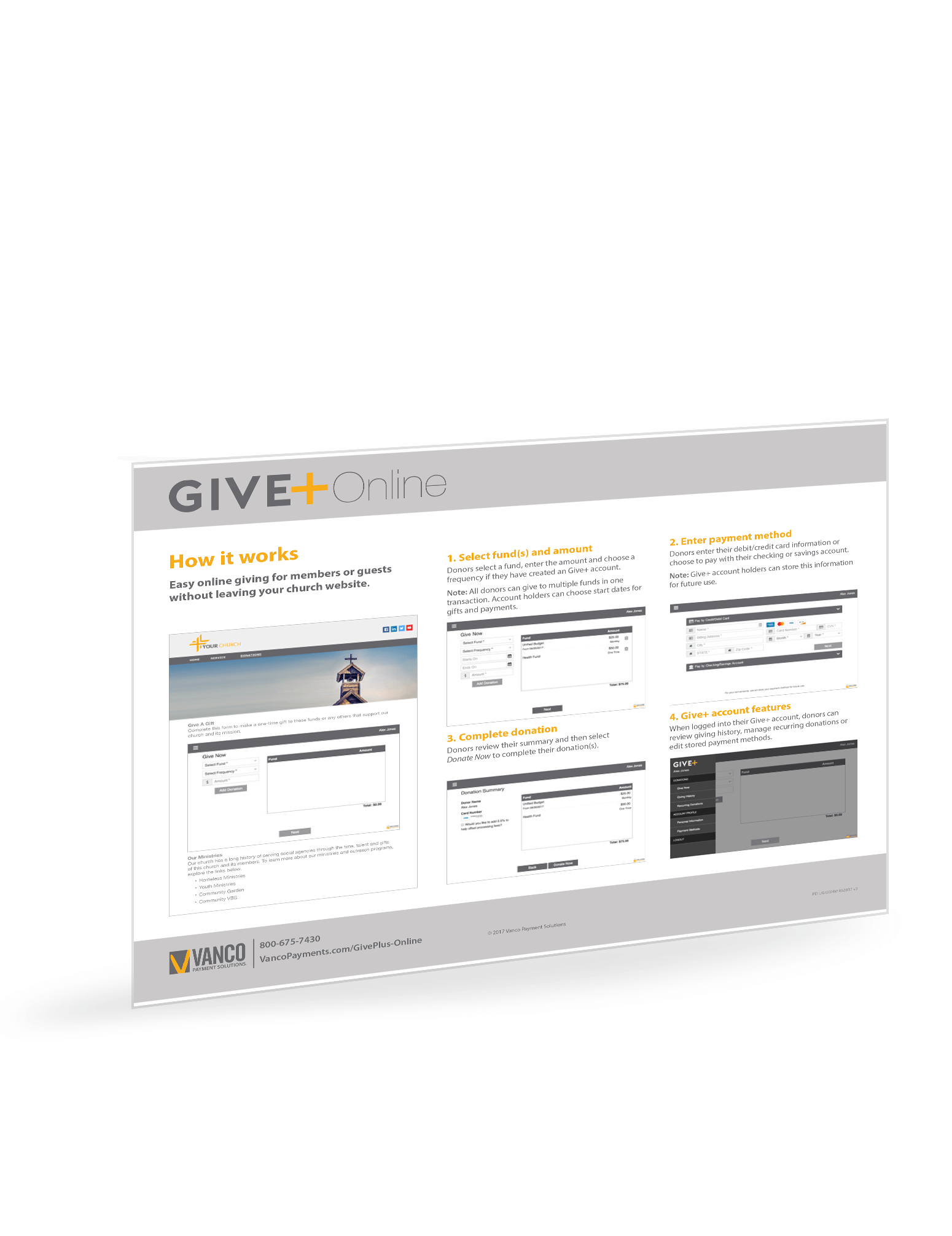 GivePlus Online Embed - How it Works
