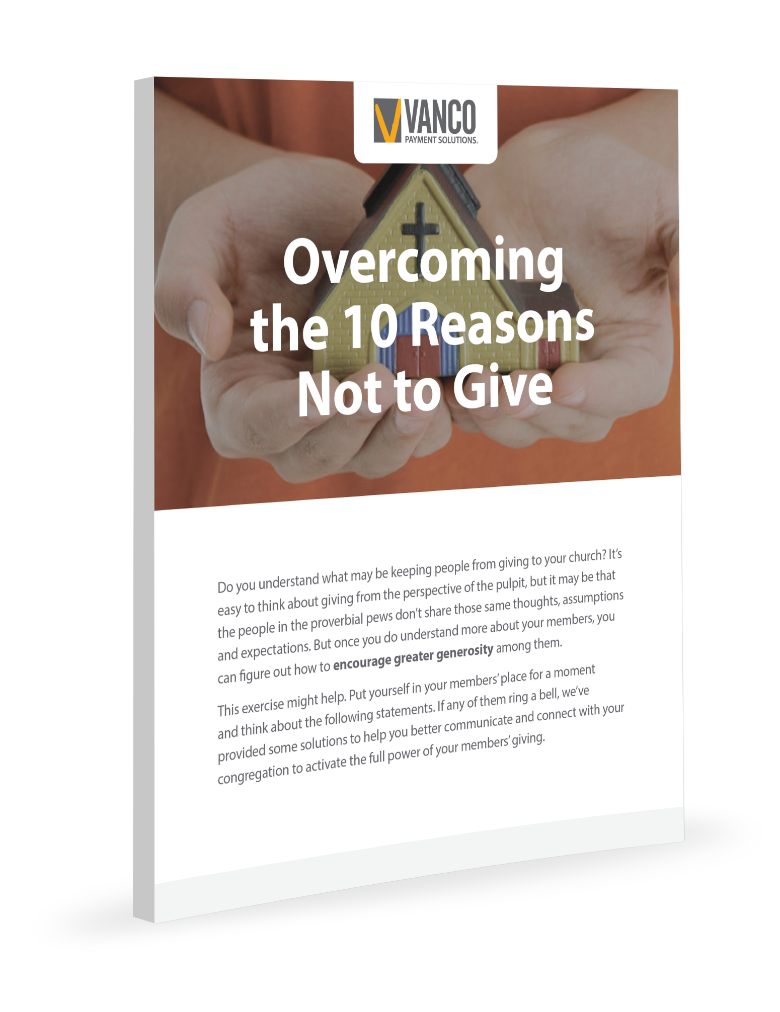 Overcoming the 10 Reasons Not to Give
