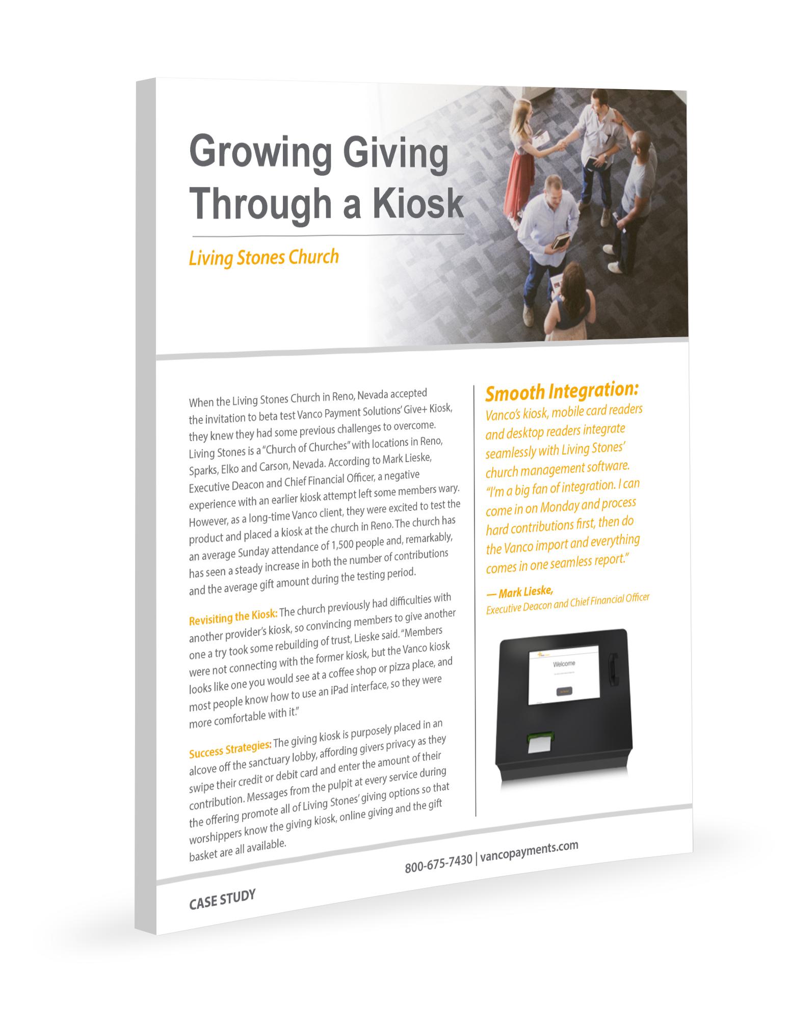 Growing Giving Through Kiosk