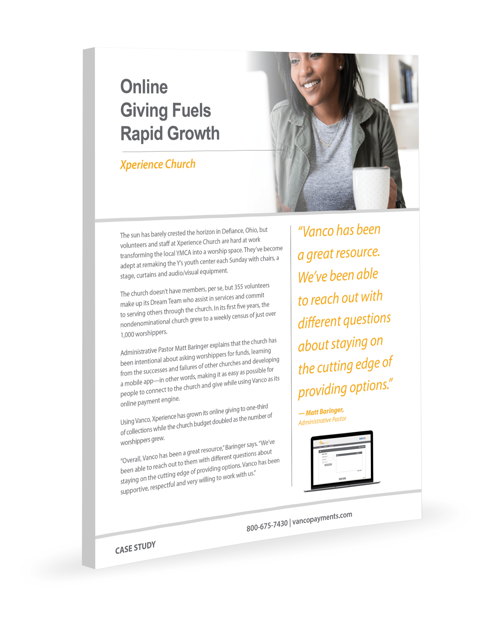 Case Study_Online Giving Fuels Rapid Growth