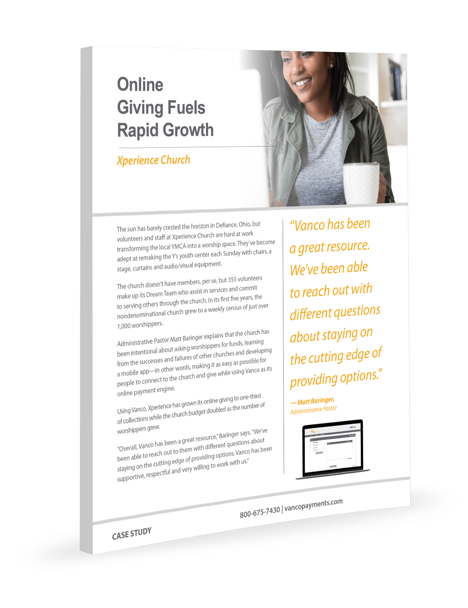 Online Giving Fuels Rapid Growth