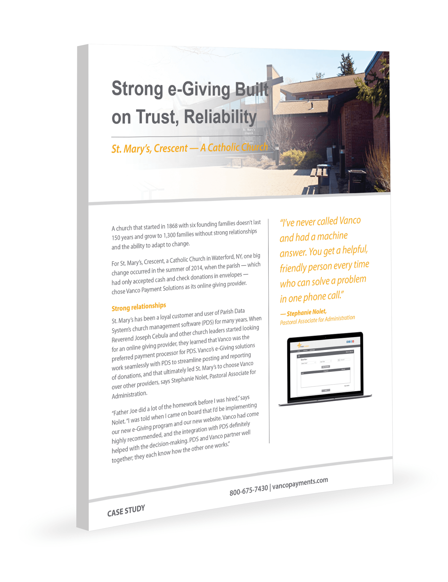 Strong eGiving Built on Trust