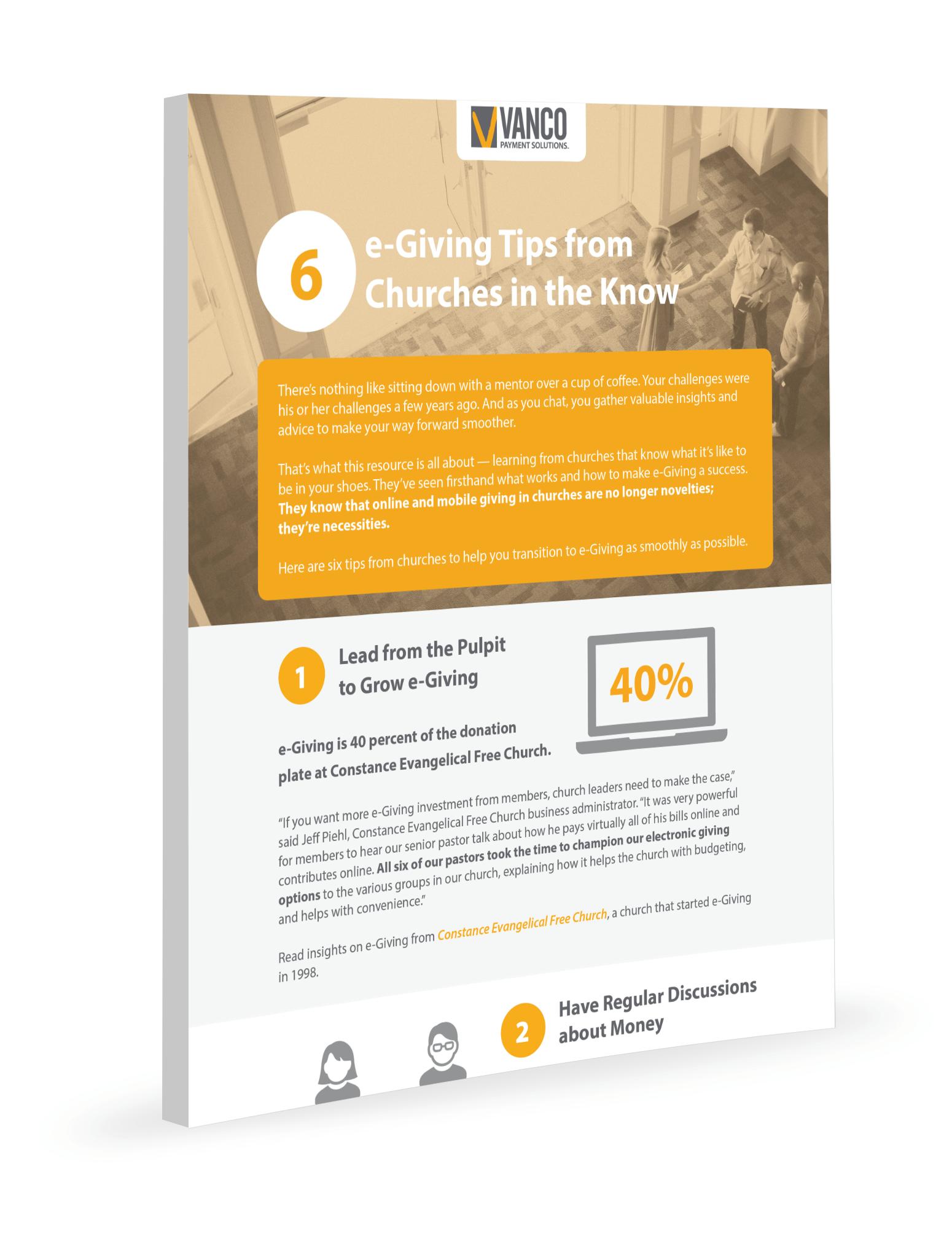 6 eGiving Tips