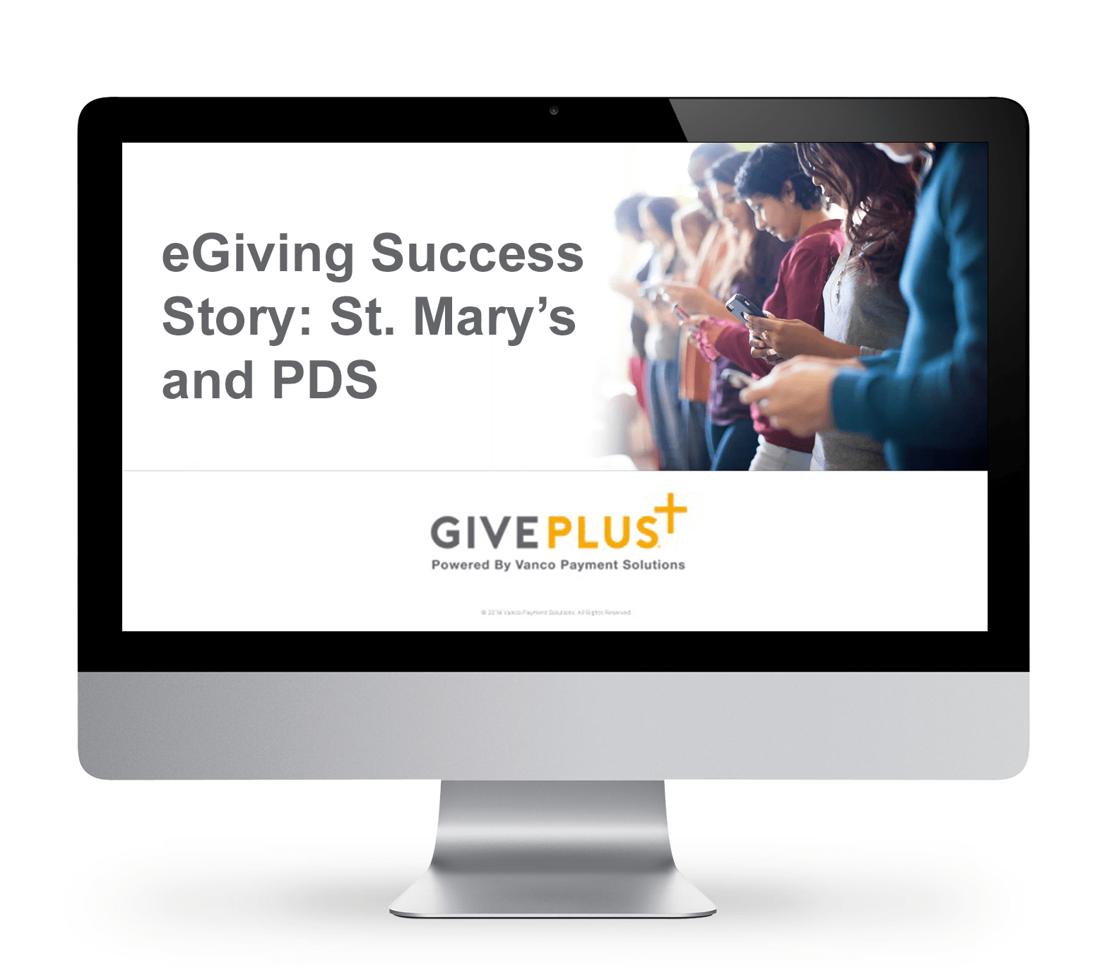 eGiving Success Story: St. Mary's and PDS