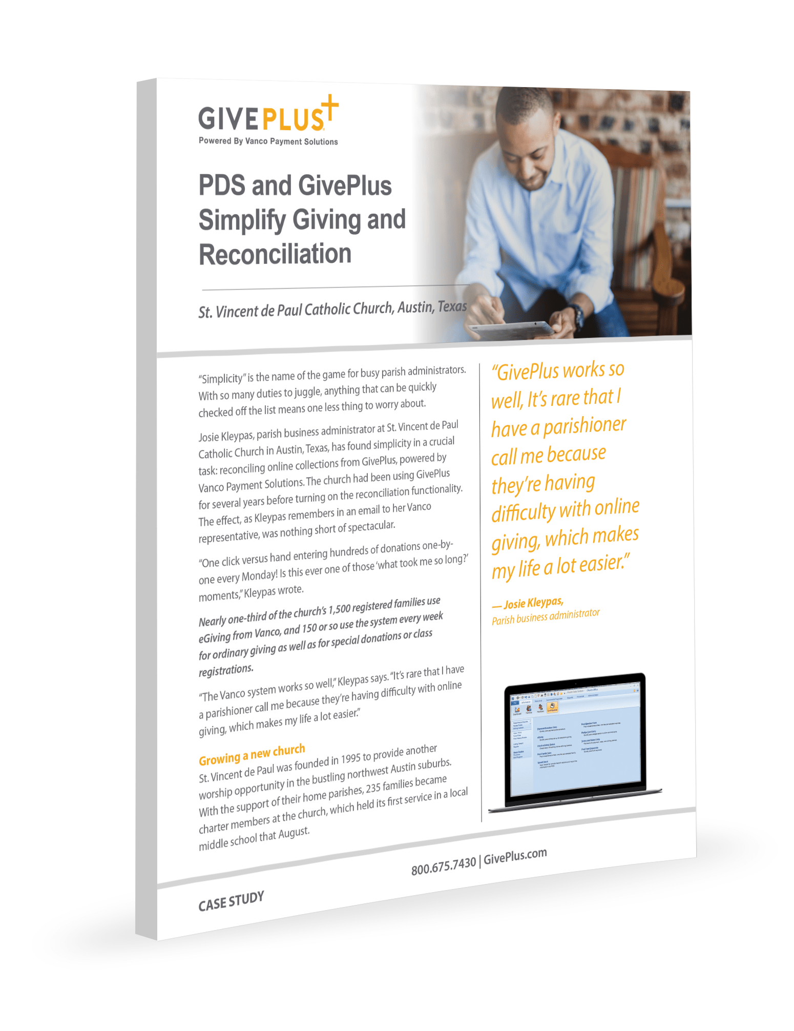 PDS and GivePlus Simplify Giving and Reconciliation