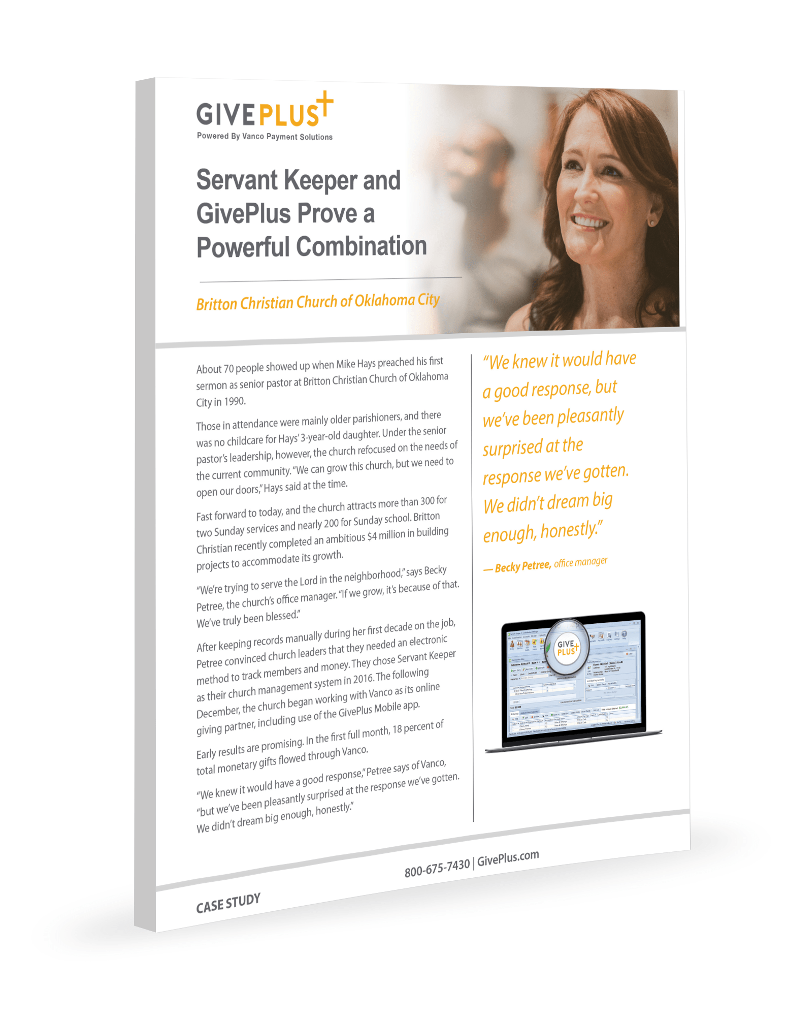 Servant Keeper and GivePlus Prove a Powerful Combination
