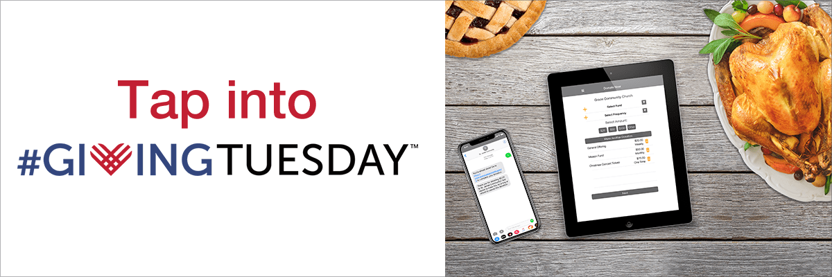 Tap into #Giving Tuesday
