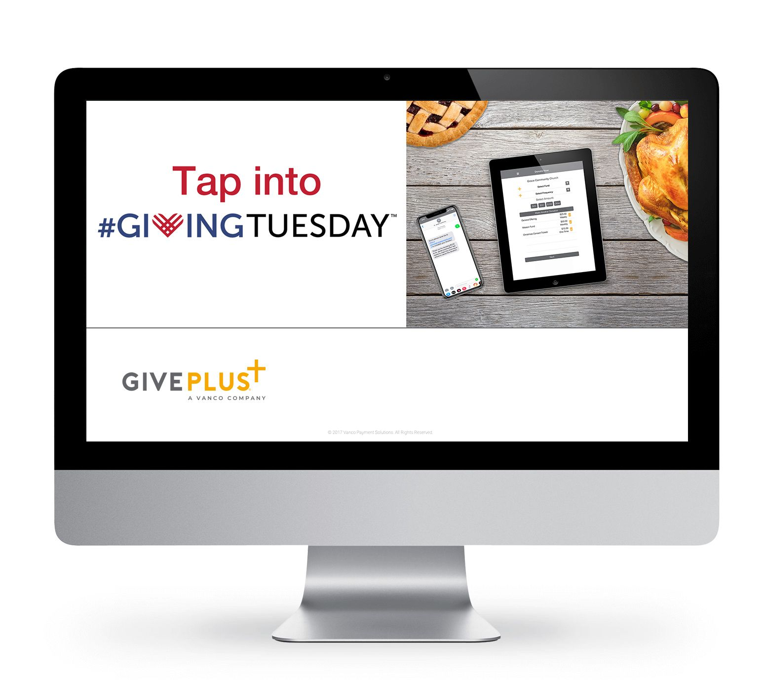 Tap into Giving Tuesday